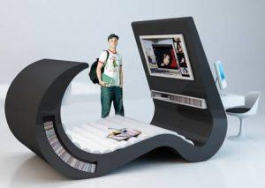 chaise lounger desk
