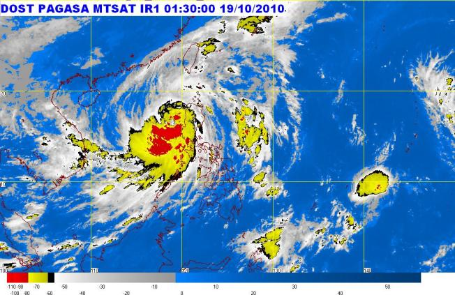 Typhoon Juan (international name: Megi)