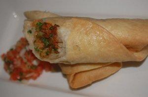 Calle Sirocco - Chimichanga (deep fried Burrito)