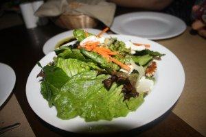 Fresh Green Salad @ The Village Chef