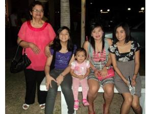 Lola with the girls :)