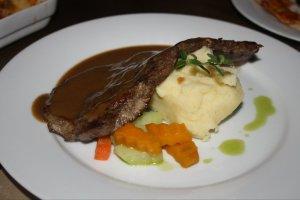 Pan Seared Australian Prime Steak @ The Village Chef