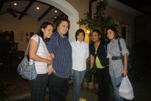 With the Village Chef, Chef Arceli Timbol :)